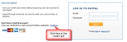 Credit Card option in Paypal checkout screens